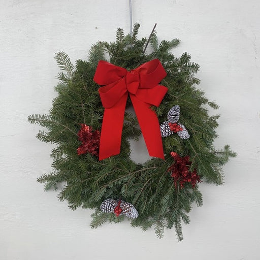 Decorated Balsam Wreath