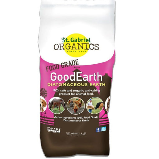 Diatomaceous Earth 100% Food Grade, 4 lb. Bag