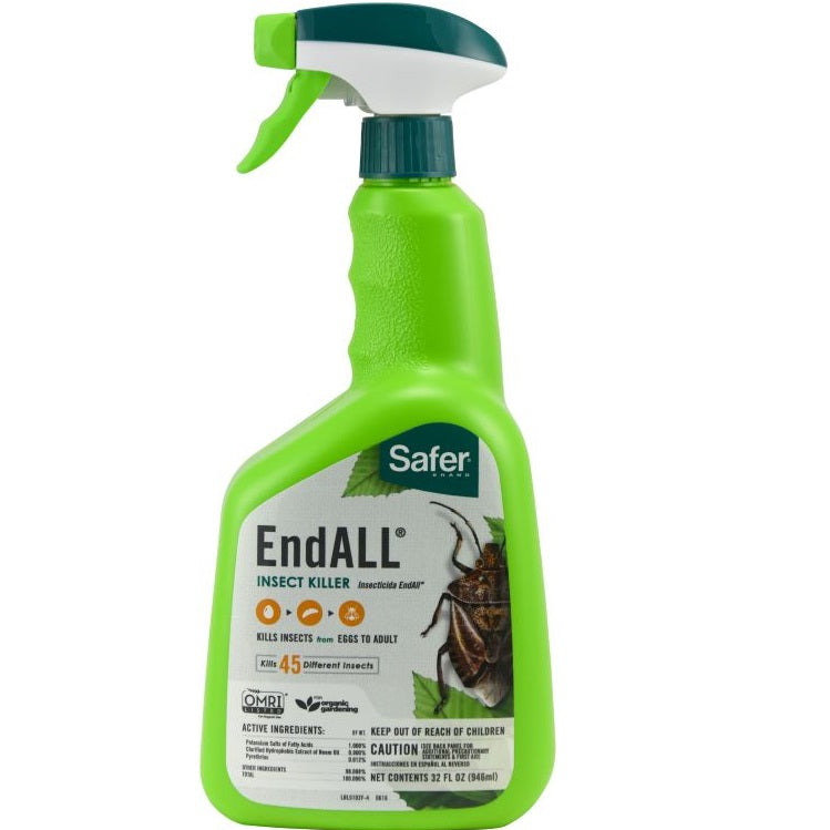 EndALL® Insect Killer, 32 oz. Ready-to-Use, Safer