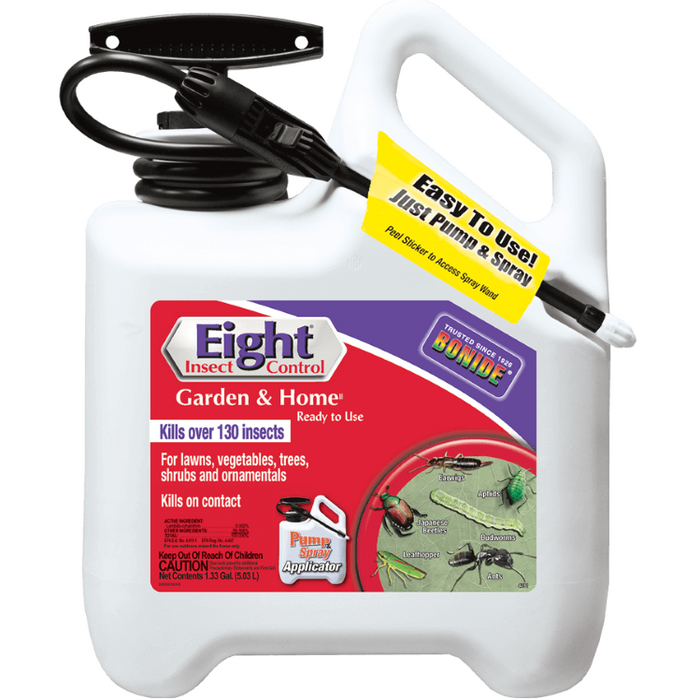 Eight Garden & Home Insect Control, Ready to Use- Bonide