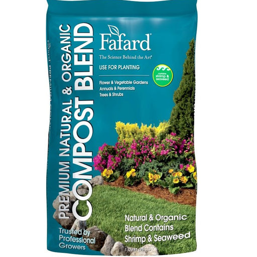 Fafard Organic Compost Blend, 1 cu ft bag