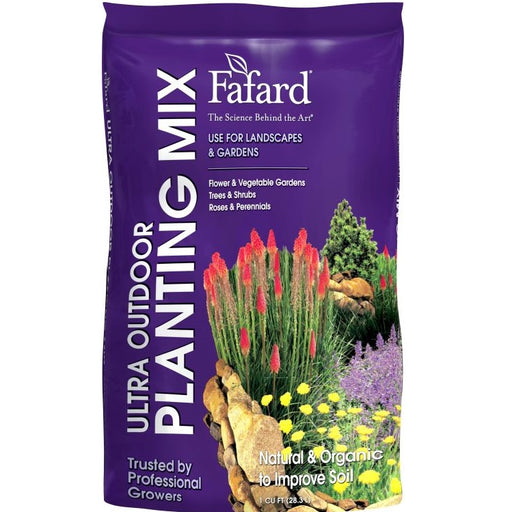 Fafard Ultra Outdoor Planting Mix Garden Soil, 1 cu ft bag