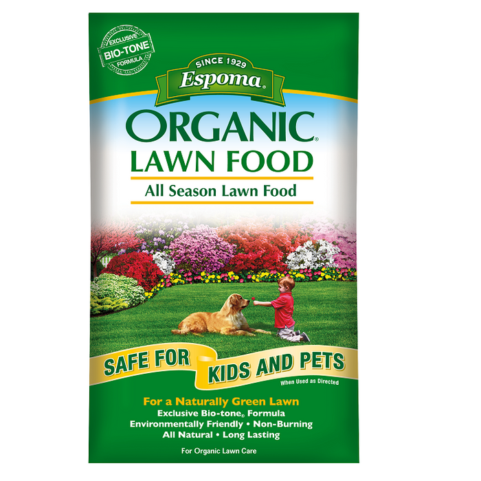 Espoma Organic All Season Lawn Fertilizer 5,000 square feet