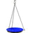 "Glass Hanging Birdbath, 10"" Assorted Colors"
