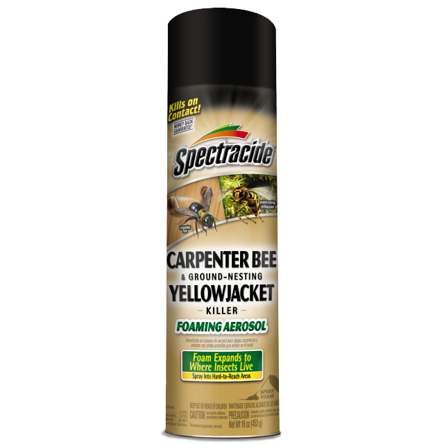 Spectracide® Carpenter Bee and Ground-Nesting Yellowjacket Killer Foaming Aerosol