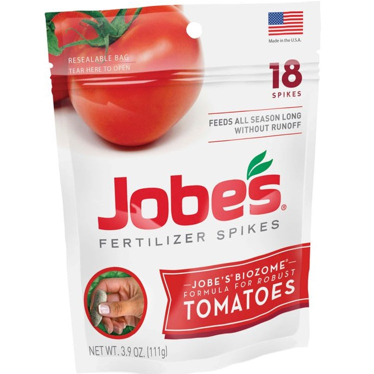 Jobes Tomato Fertilizer Spikes 18-Pack