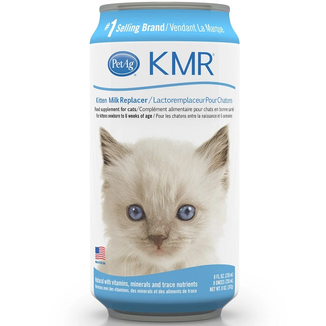 KMR Kitten Milk Replacer Liquid, 11 Oz.