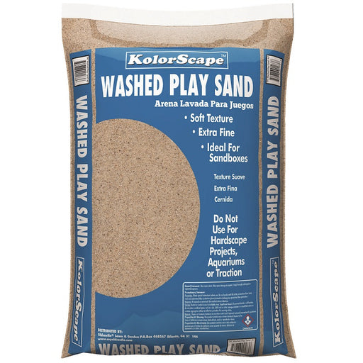 Kolorscape Washed Play Sand, 0.4 Cu. Ft.