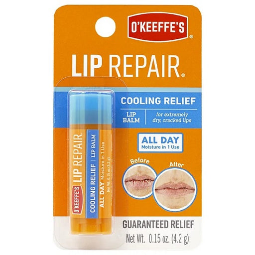 O'Keeffe's Lip Repair Lip Balm, Cooling Relief