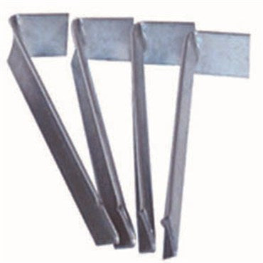 "Edging Stakes, Galvanized Metal 9"" Heavy Duty, 4 pack"