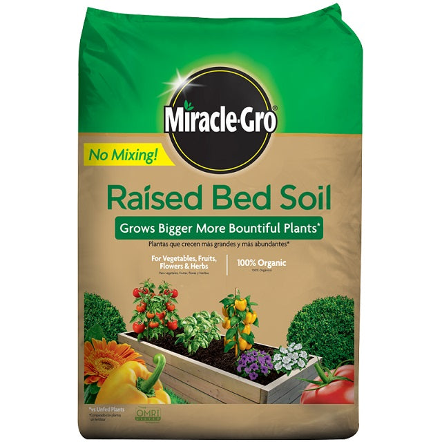 Miracle-Gro® Raised Bed Soil 1.5 Cu. Ft.