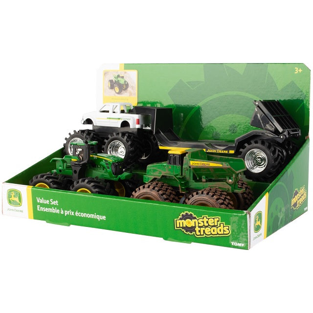"John Deere Monster Treads 5"" Value Set"