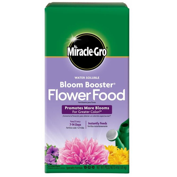 Miracle-Gro® Water Soluble Bloom Booster® Flower Food