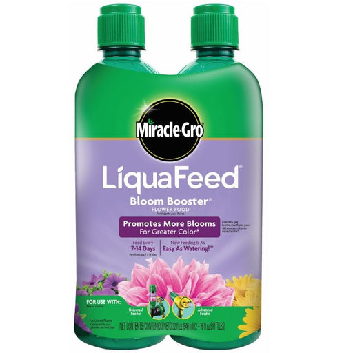Miracle-Gro® LiquaFeed® Bloom Booster® Flower Food, 2pack