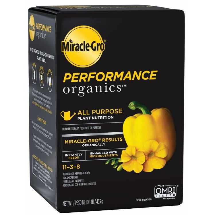 Miracle-Gro® Performance Organics® All Purpose Plant Nutrition, 1lb box