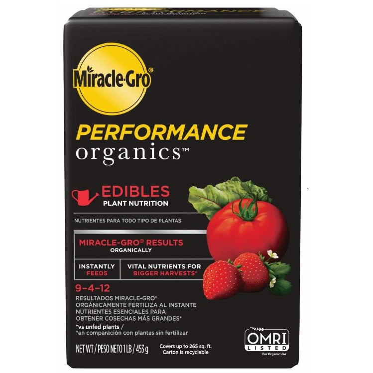 Miracle-Gro® Performance Organics® Edibles Plant Nutrition, 1lb box