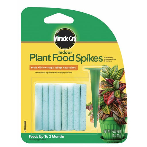 Miracle-Gro® Indoor Plant Food Spikes, 1.1oz, 24 pack