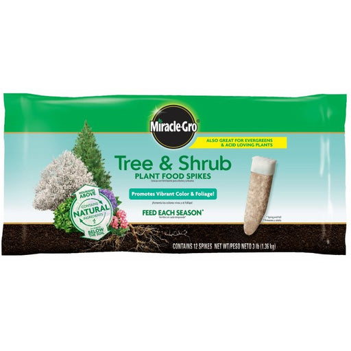 Miracle-Gro® Tree & Shrub Plant Food Spikes, 12 pack
