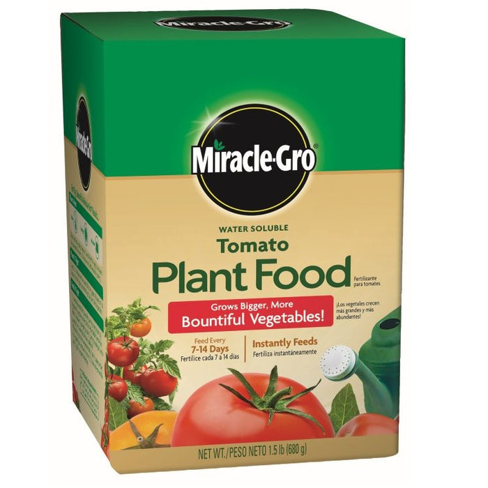 Miracle-Gro® Water Soluble Tomato Plant Food, 1.5 lb. box