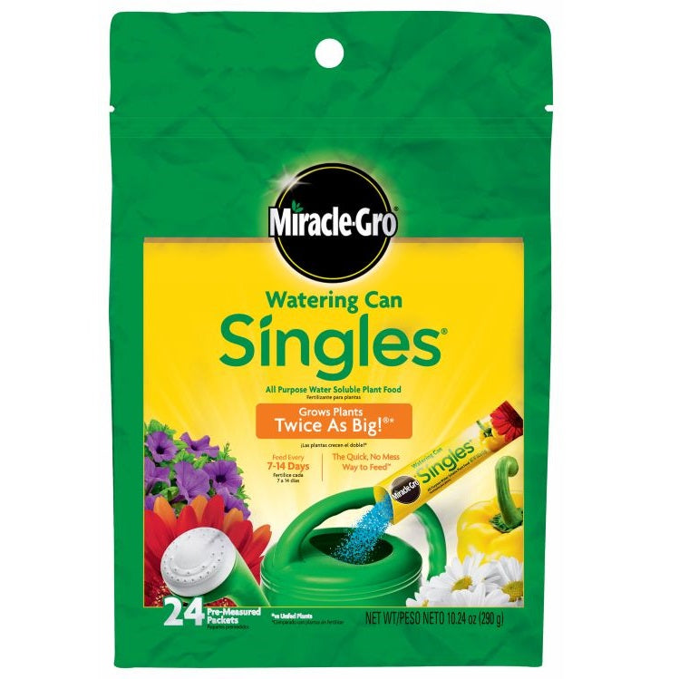 Miracle-Gro® Watering Can Singles® All Purpose Water Soluble Plant Food