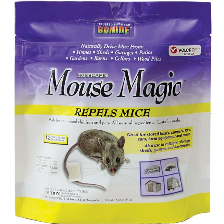 Mouse Magic Mouse Repellent Scent Packs