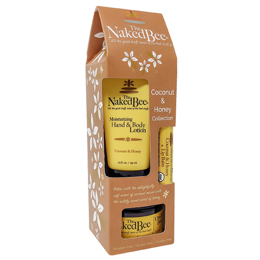 Naked Bee Coconut & Honey Collection Gift Set