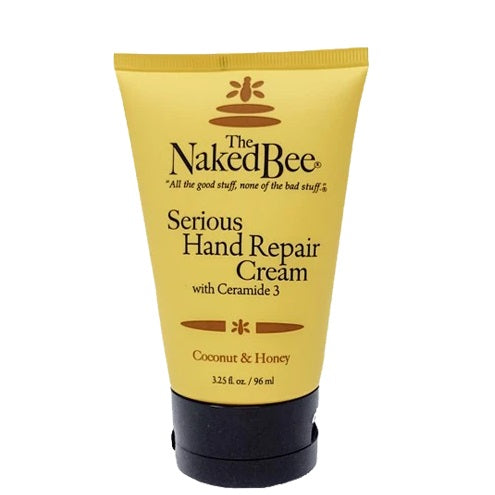 Naked Bee Coconut & Honey Serious Hand Repair Cream 3.25 Oz.