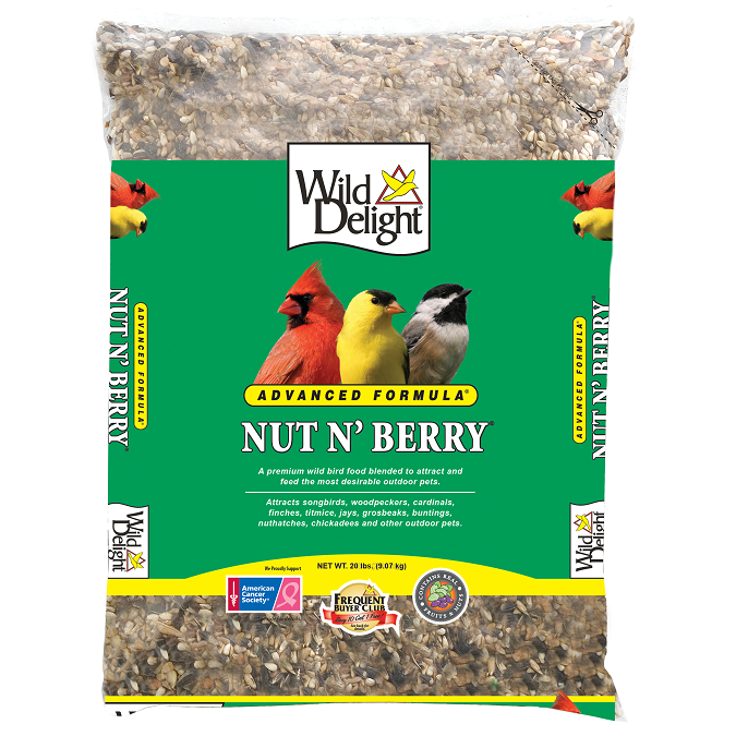 Wild Delight Nut N' Berry 20-Lbs.