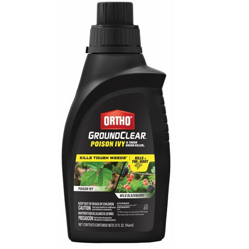 Ortho® GroundClear® Poison Ivy & Tough Brush Killer Concentrate, 32 oz.