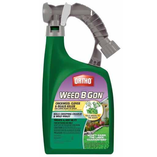 Ortho Chickweed, Clover & Oxalis Killer, Ready-to-Spray, 32 oz.