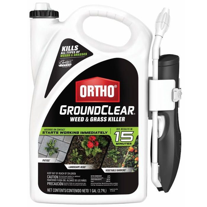 Ortho® GroundClear® Weed & Grass Killer, 1 gal. Ready-to-Use w/ Wand