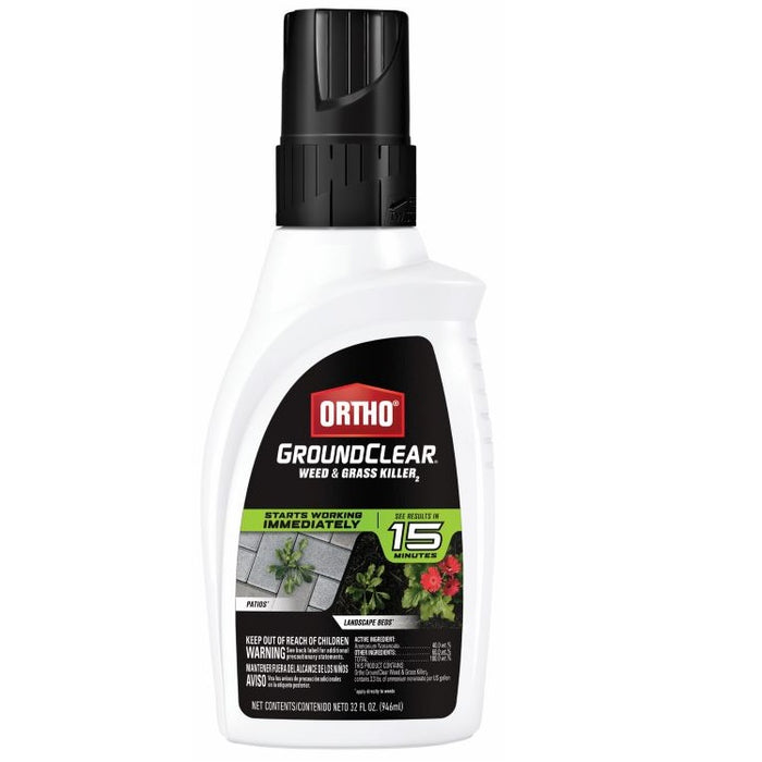 Ortho® GroundClear® Weed & Grass Killer Concentrate, 32 oz.