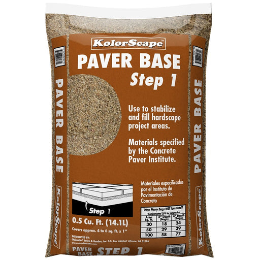Kolorscape Paver Base Sand Step 1, 0.5 Cu. Ft.