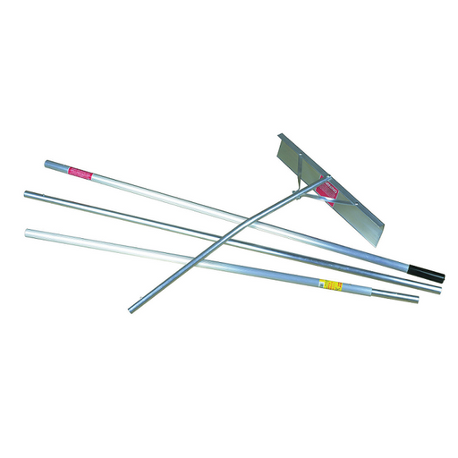 Roof Rake Aluminum 16ft. Midwest 24 inch Blade