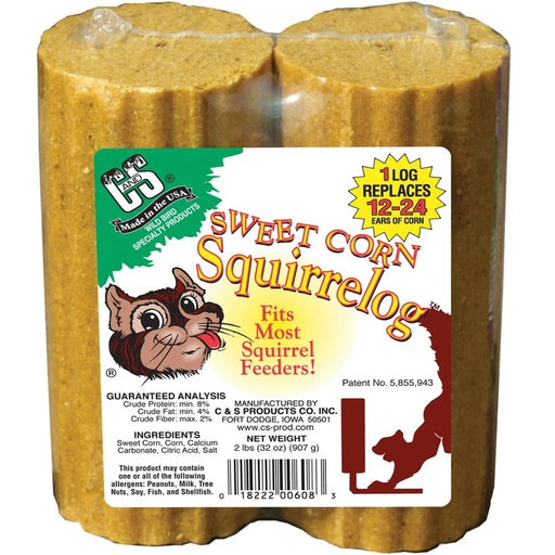 Sweet Corn Squirrelog Refill 2-Pack