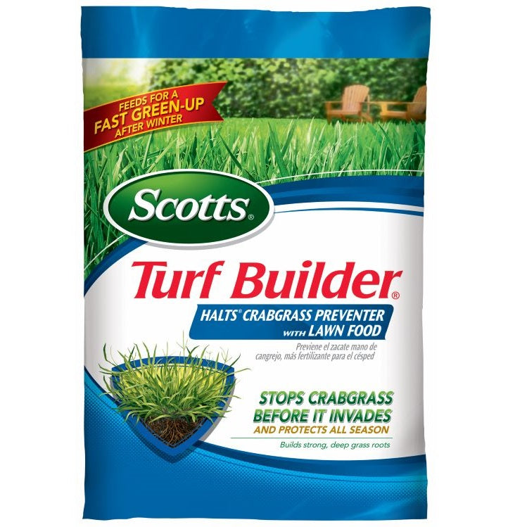Scotts® Turf Builder® Halts® Crabgrass Preventer with Lawn Food