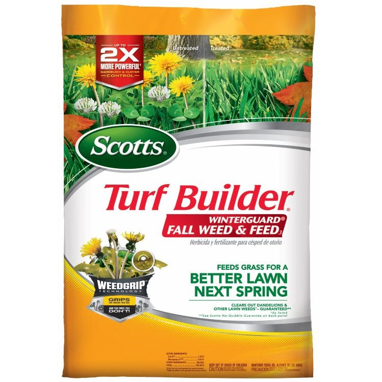 Scotts® Turf Builder® WinterGuard® Fall Weed & Feed