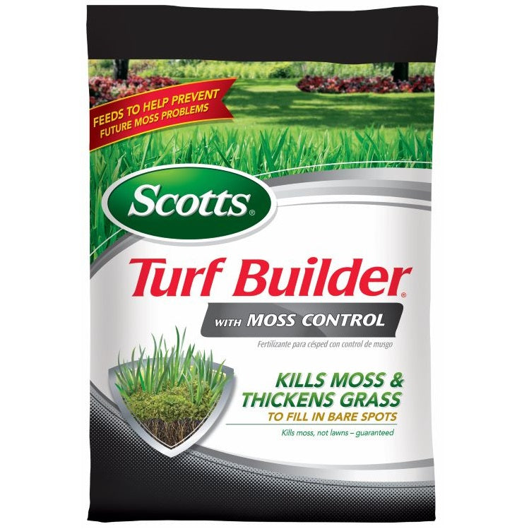 Scotts® Turf Builder® with Moss Control, 5,000 sq. ft. bag