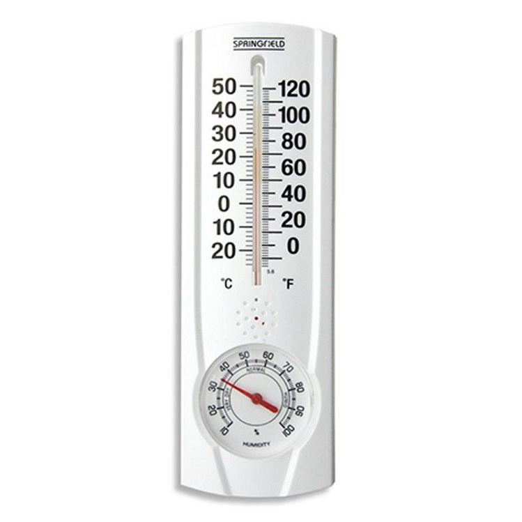 Indoor/Outdoor Thermometer with Hygrometer