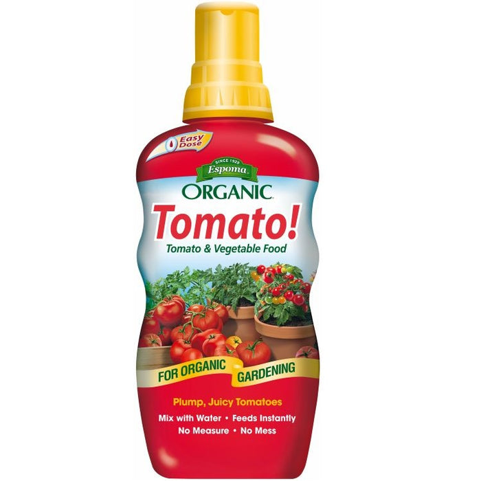 Tomato! Organic Liquid Tomato & Vegetable Food - Espoma 18oz