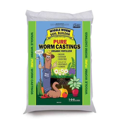 Worm Castings, Organic Soil Builder/Fertilizer - Wiggle Worm