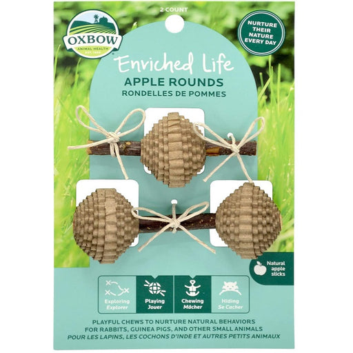 Apple Rounds Small Animal Toys - Enriched Life
