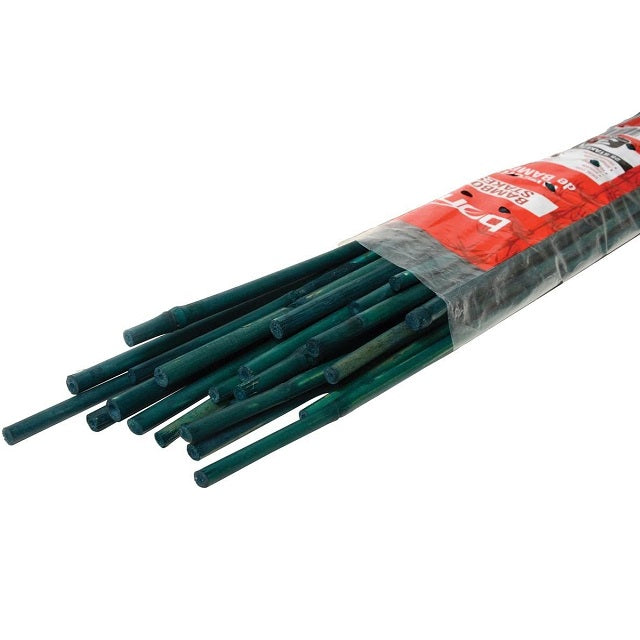 3 ft. Green Bamboo Stakes, 25-Pack