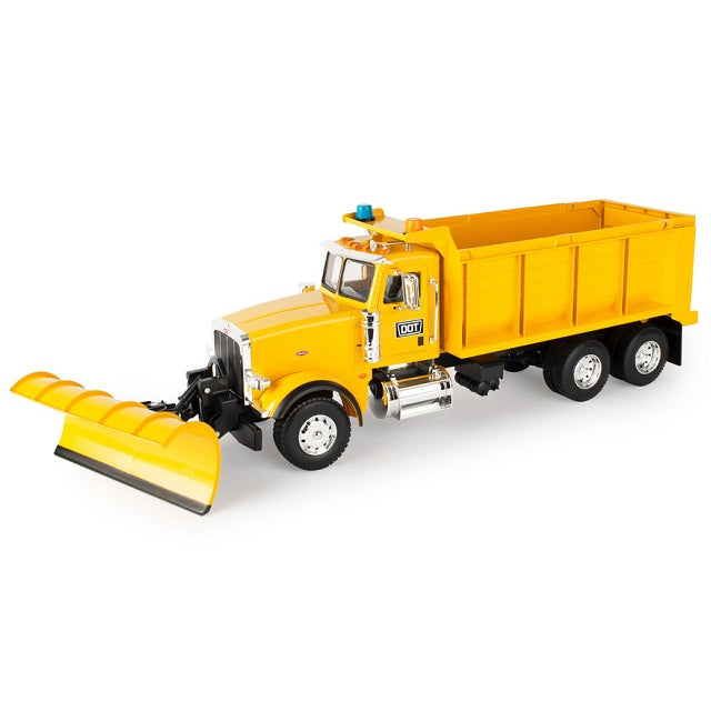 Big Farm Peterbilt Model 367 Truck with Snow Plow 1:16