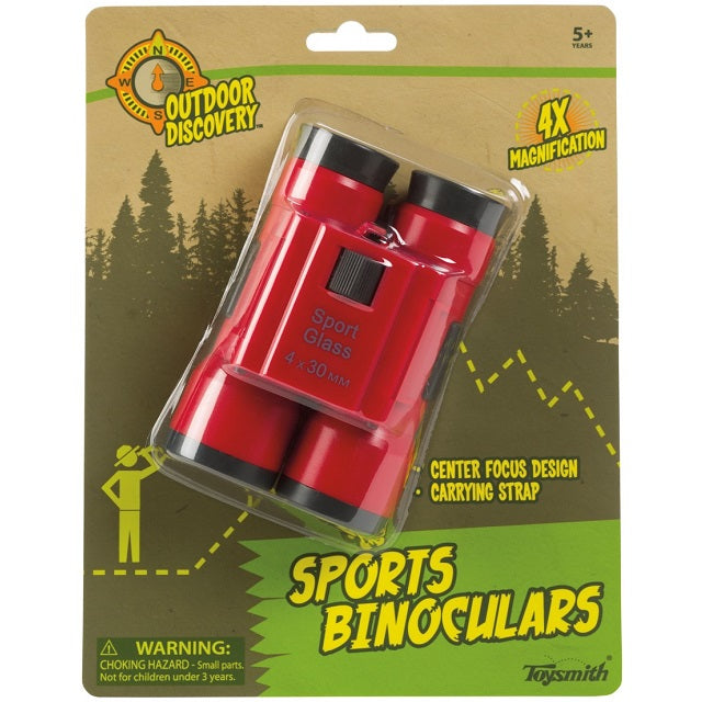 Outdoor Discovery Sports Binoculars, Assorted