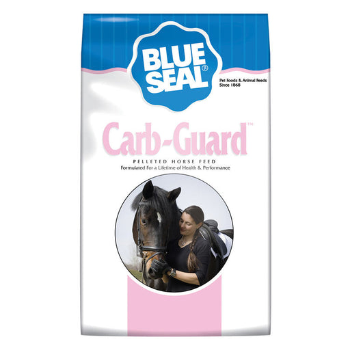 Blue Seal Carb-Guard Pelleted Horse Feed, 50 lbs.