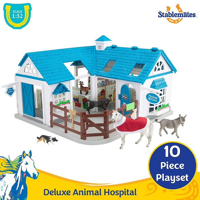 Breyer Deluxe Animal Hospital