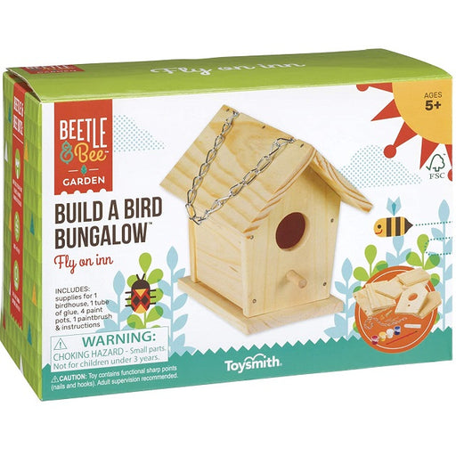 Beetle & Bee Build A Bird Bungalow
