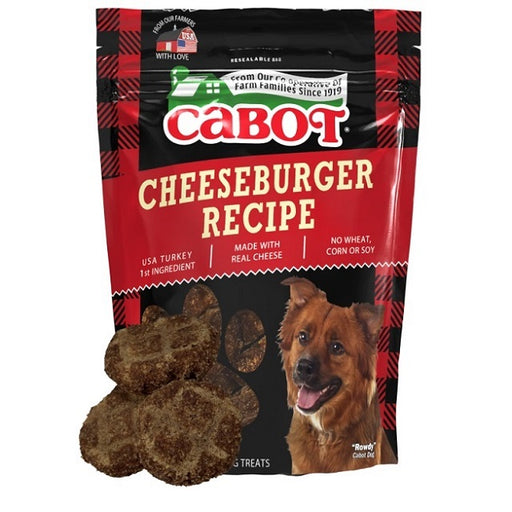 Cabot Cheeseburger Recipe Dog Treats 5-Oz.