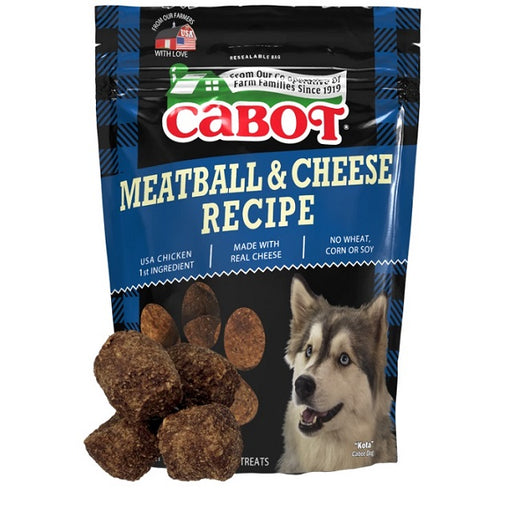 Cabot Meatball & Cheese Recipe Dog Treats 5-Oz.